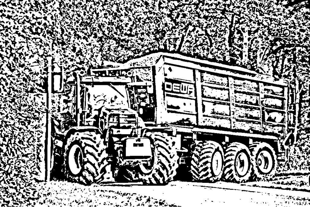 Kleurplaten Van Tractors.Kleurplaat Hakselaar Traktor 16 Ausmalbilder Kleurplatenl Com