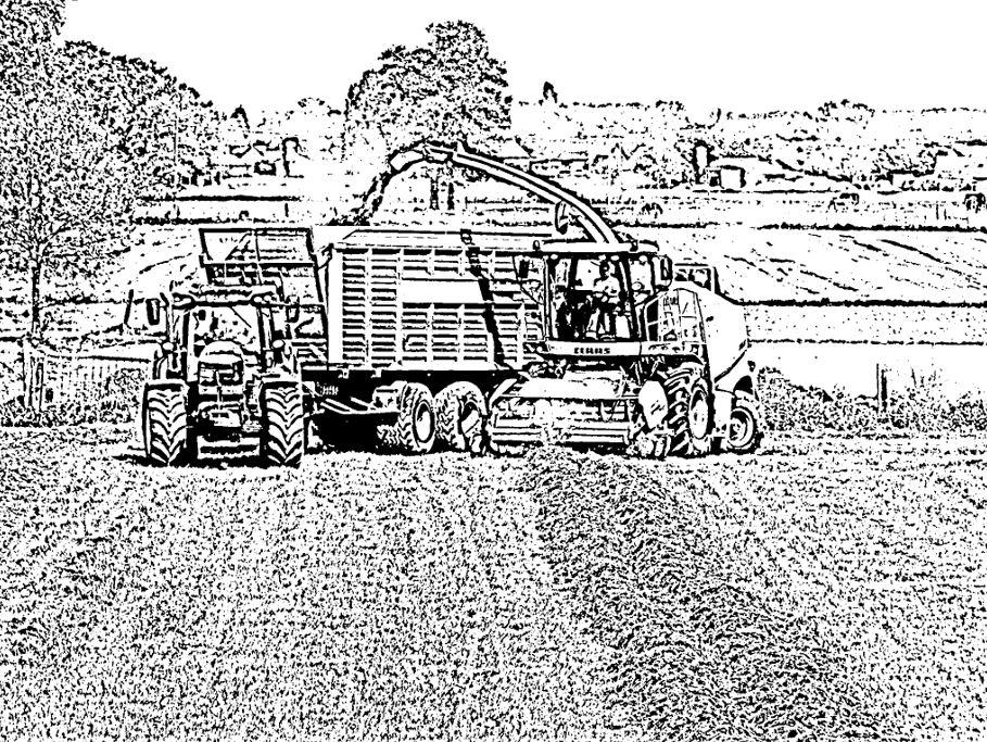 Kleurplaten Tractor Case.Kleurplaten Bart Sprangers