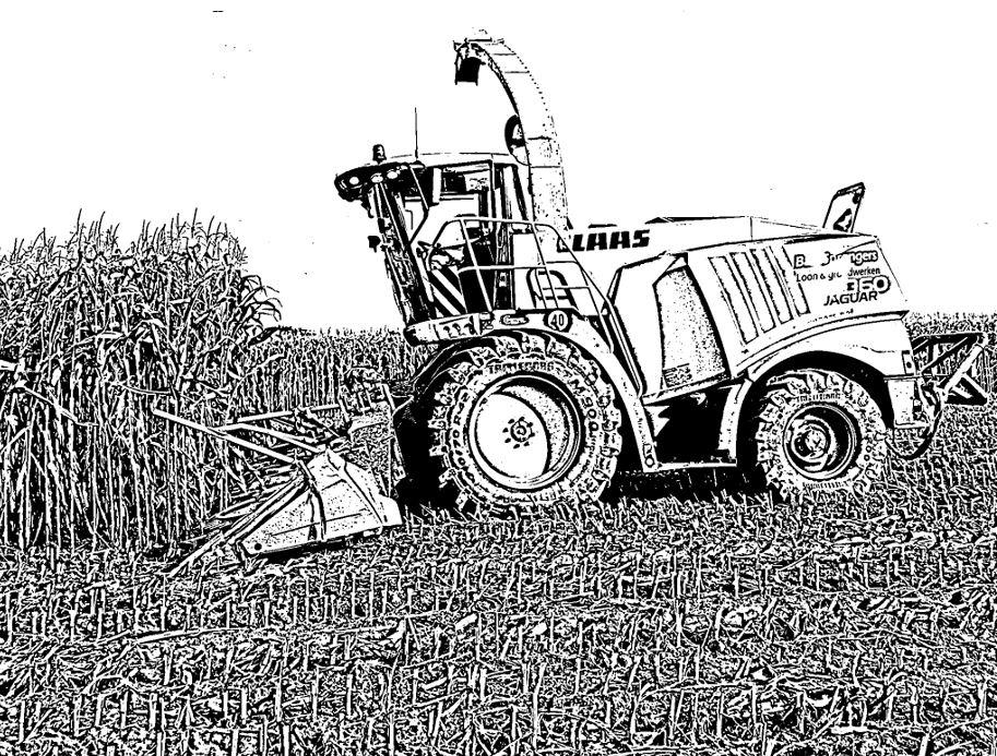 Kleurplaten Van Tractors.Kleurplaten Tractors John Deere Printable John Deere Coloring Pages