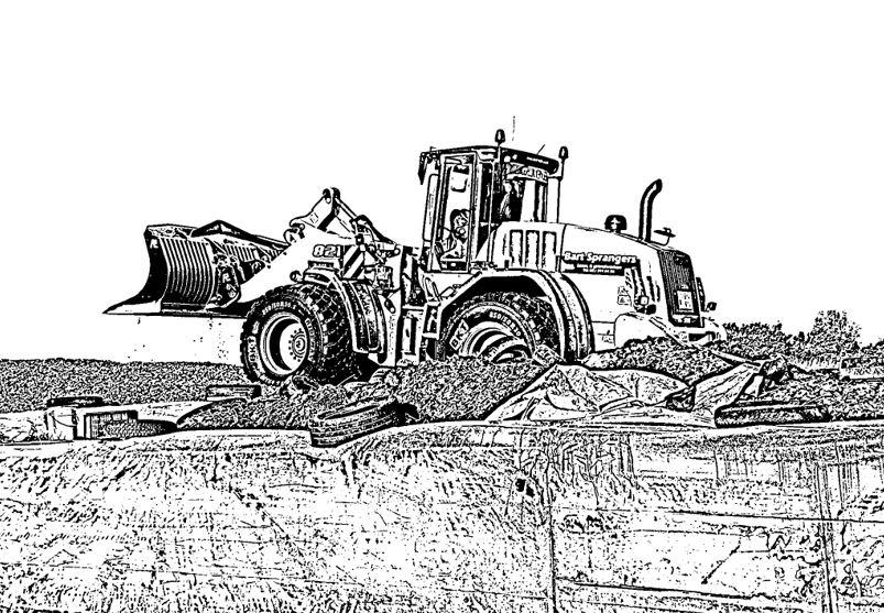 Kleurplaten Tractors Case.Kleurplaten Bart Sprangers